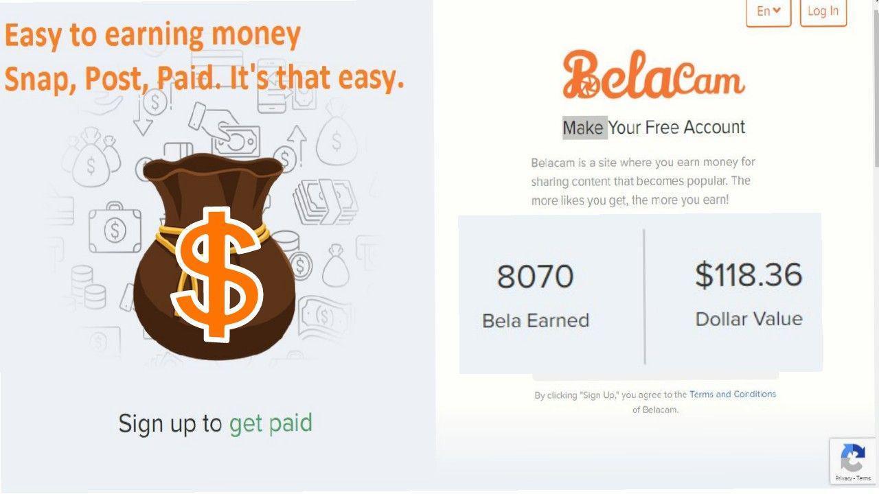 Crypto Market Ads - Property - Earn money with Belacam